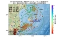 地震震源マップ:2017年07月14日 03時02分 福島県沖 M2.5