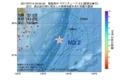 地震震源マップ:2017年07月14日 04時50分 福島県沖 M3.2