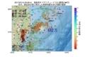 地震震源マップ:2017年07月14日 05時26分 福島県沖 M2.5