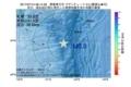 地震震源マップ:2017年07月14日 06時14分 関東東方沖 M3.0