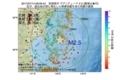 地震震源マップ:2017年07月14日 08時09分 宮城県沖 M2.5