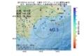 地震震源マップ:2017年07月14日 12時17分 十勝沖 M3.5