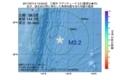 地震震源マップ:2017年07月14日 13時53分 三陸沖 M3.2