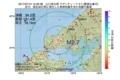 地震震源マップ:2017年07月14日 15時20分 山口県北部 M2.7