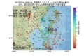 地震震源マップ:2017年07月14日 16時50分 宮城県沖 M2.8