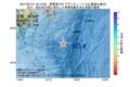 地震震源マップ:2017年07月14日 19時13分 関東東方沖 M3.8