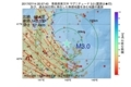 地震震源マップ:2017年07月14日 20時57分 青森県東方沖 M3.0