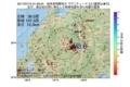 地震震源マップ:2017年07月15日 01時59分 岐阜県飛騨地方 M3.0
