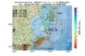 地震震源マップ:2017年07月15日 02時47分 福島県沖 M2.5