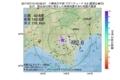 地震震源マップ:2017年07月15日 03時56分 十勝地方中部 M2.6