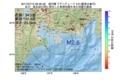 地震震源マップ:2017年07月15日 06時30分 遠州灘 M2.6