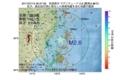 地震震源マップ:2017年07月15日 06時37分 宮城県沖 M2.6