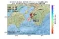 地震震源マップ:2017年07月15日 06時39分 紀伊水道 M2.5