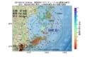 地震震源マップ:2017年07月15日 12時02分 福島県沖 M4.8