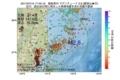 地震震源マップ:2017年07月15日 17時45分 福島県沖 M2.8