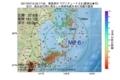 地震震源マップ:2017年07月15日 22時17分 福島県沖 M2.6