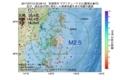 地震震源マップ:2017年07月15日 22時28分 宮城県沖 M2.5