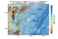 地震震源マップ:2017年07月16日 04時03分 茨城県沖 M2.5