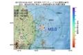 地震震源マップ:2017年07月16日 05時19分 岩手県沖 M3.0