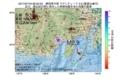 地震震源マップ:2017年07月16日 06時02分 静岡県中部 M2.9