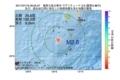 地震震源マップ:2017年07月16日 09時55分 奄美大島北東沖 M2.6