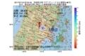 地震震源マップ:2017年07月16日 02時33分 宮城県北部 M2.2