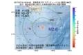 地震震源マップ:2017年07月16日 19時34分 青森県東方沖 M2.6