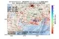 地震震源マップ:2017年07月16日 23時13分 愛知県西部 M3.4