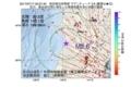 地震震源マップ:2017年07月17日 00時07分 秋田県沿岸南部 M2.6