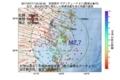 地震震源マップ:2017年07月17日 04時32分 宮城県沖 M2.7