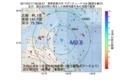 地震震源マップ:2017年07月17日 08時28分 青森県東方沖 M2.8
