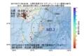 地震震源マップ:2017年07月17日 08時40分 大隅半島東方沖 M3.1