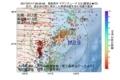 地震震源マップ:2017年07月17日 08時56分 福島県沖 M2.9