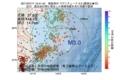 地震震源マップ:2017年07月17日 12時41分 福島県沖 M3.0