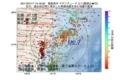 地震震源マップ:2017年07月17日 14時19分 福島県沖 M2.7