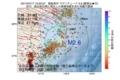 地震震源マップ:2017年07月17日 13時52分 福島県沖 M2.6