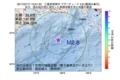 地震震源マップ:2017年07月17日 13時51分 三重県南東沖 M2.8