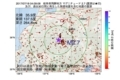 地震震源マップ:2017年07月18日 04時09分 岐阜県飛騨地方 M2.7