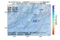 地震震源マップ:2017年07月18日 05時29分 三重県南東沖 M2.7