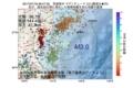 地震震源マップ:2017年07月18日 08時47分 茨城県沖 M3.0