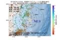 地震震源マップ:2017年07月18日 11時37分 宮城県沖 M2.9