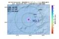 地震震源マップ:2017年07月18日 05時42分 東海道南方沖 M3.7