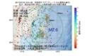 地震震源マップ:2017年07月18日 12時01分 宮城県沖 M2.6