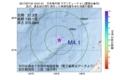 地震震源マップ:2017年07月18日 13時51分 日本海中部 M4.1