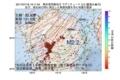 地震震源マップ:2017年07月18日 19時11分 熊本県阿蘇地方 M2.2