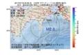 地震震源マップ:2017年07月18日 22時58分 土佐湾 M2.6
