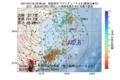 地震震源マップ:2017年07月18日 23時06分 福島県沖 M2.6