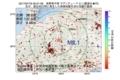 地震震源マップ:2017年07月19日 05時01分 長野県中部 M2.1