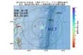 地震震源マップ:2017年07月19日 10時48分 三陸沖 M2.7