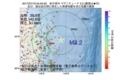 地震震源マップ:2017年07月19日 04時53分 岩手県沖 M3.2